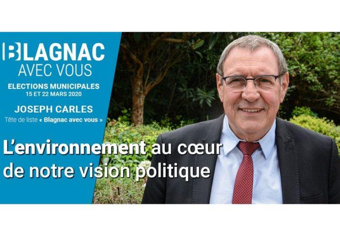 L'environnement au cœur de notre vision politique