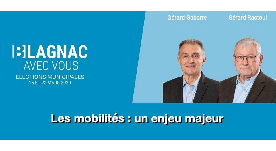Les mobilités : un enjeu majeur