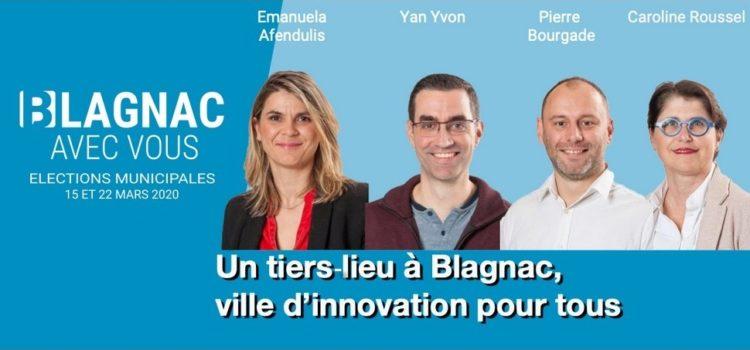 Un tiers-lieu à Blagnac, ville d'innovation pour tous